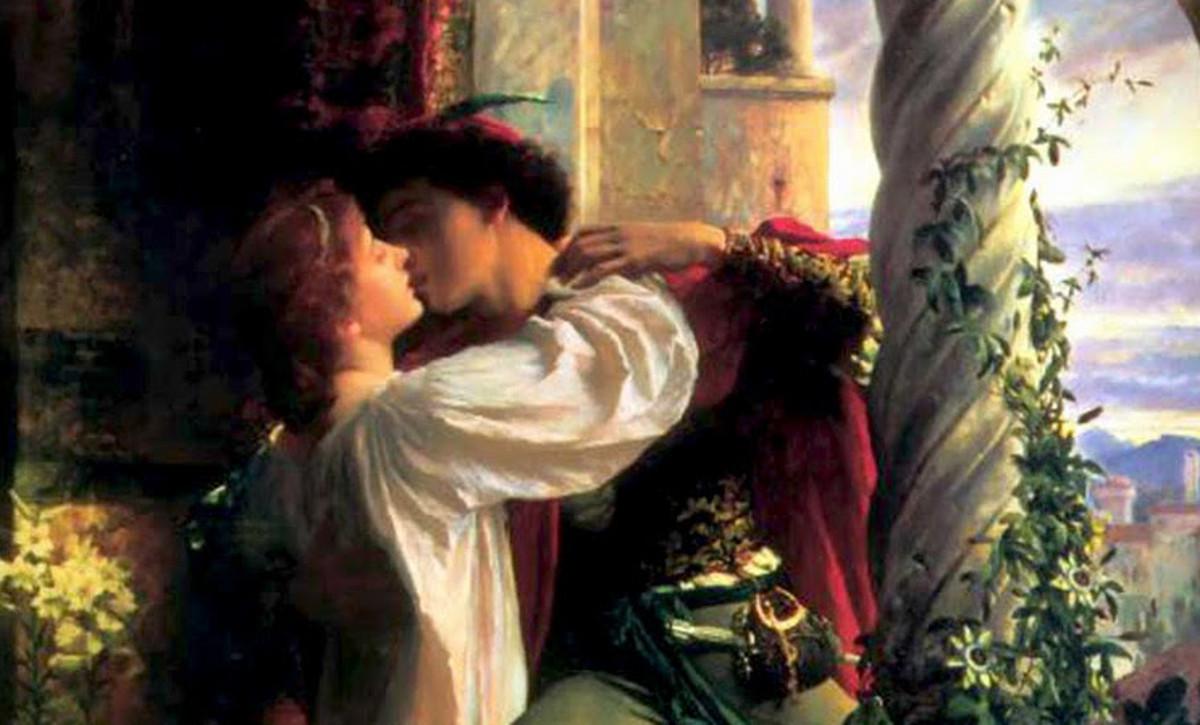 Liebespaar: Romeo und Julia